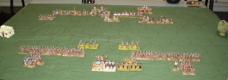Scipio vs Hannibal, Battle1