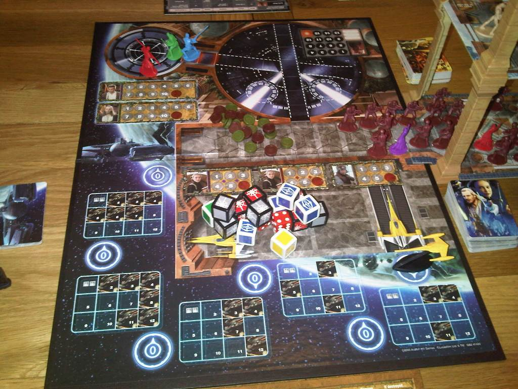 Recent gaming…Star Wars: The Queen's Gambit – Meeples ...