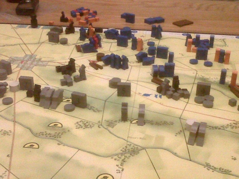Gettysburg Day 3  - the final position