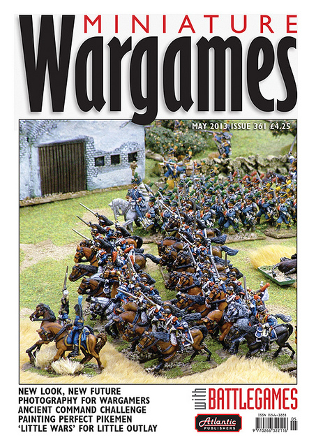 New Miniature Wargames cover