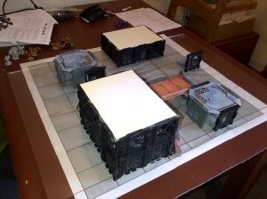 Deadzone playtest board
