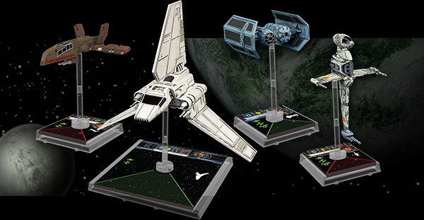 Fantasy Flight Games announce X-Wing Wave 3 ships