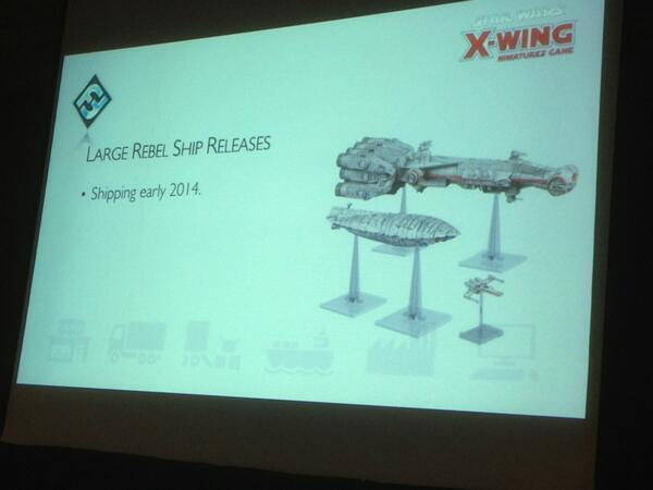 Big Ships coming for Star Wars: X-Wing Miniatures from FFG