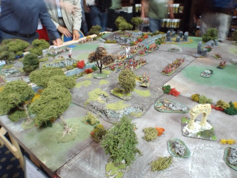 Westbury Wargamers - 28mm Arthurian - The Battle of Gwen Ystrad