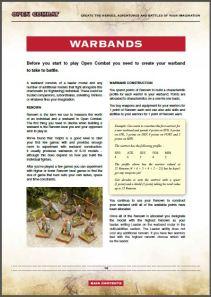 OC warband