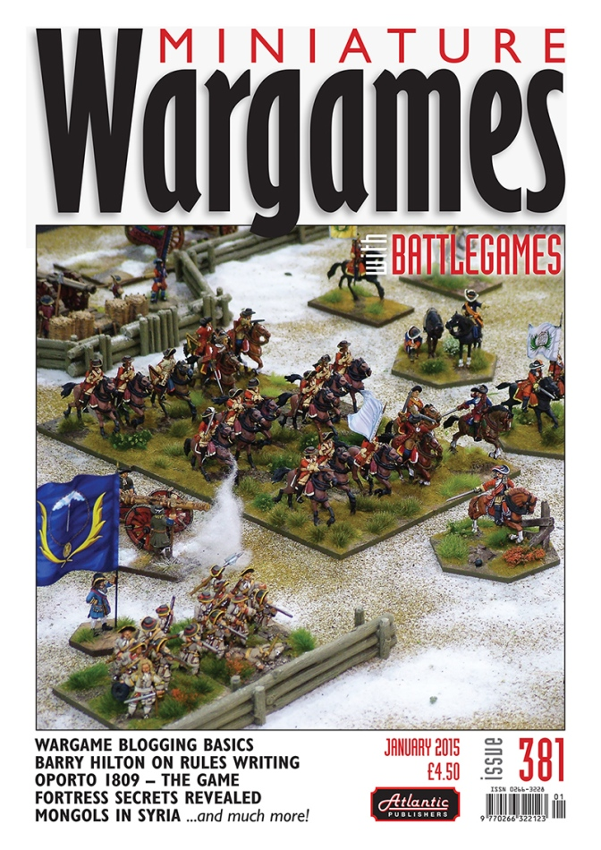 Miniature Wargames with Battlegames 381 published