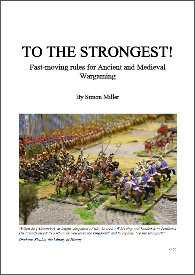 'To The Strongest' Ancients rules released