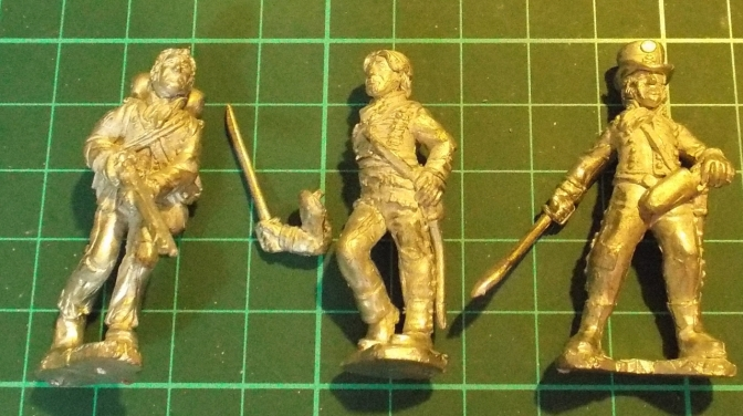 40mm Napoleonic Peninsular War figures on eBay