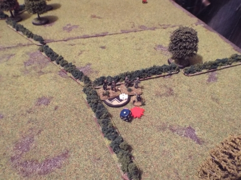 Having already seen one team break and run, the death of Obergefreiter Klaus seals the fate of the German Squad