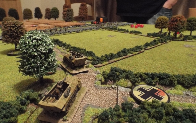 Christening the new Wargames table – Chain of Command AAR