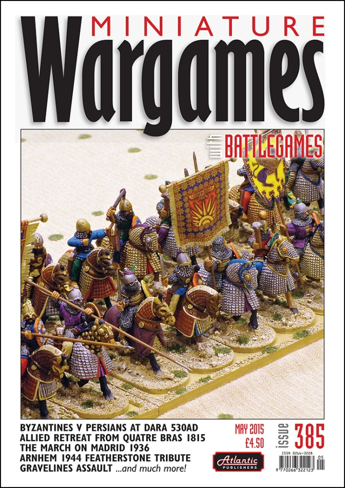 Miniature Wargames with Battlegames issue 385 out for Salute