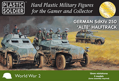 Christmas comes early for 15mm German Army at Salute, thanks to the Plastic Soldier Company
