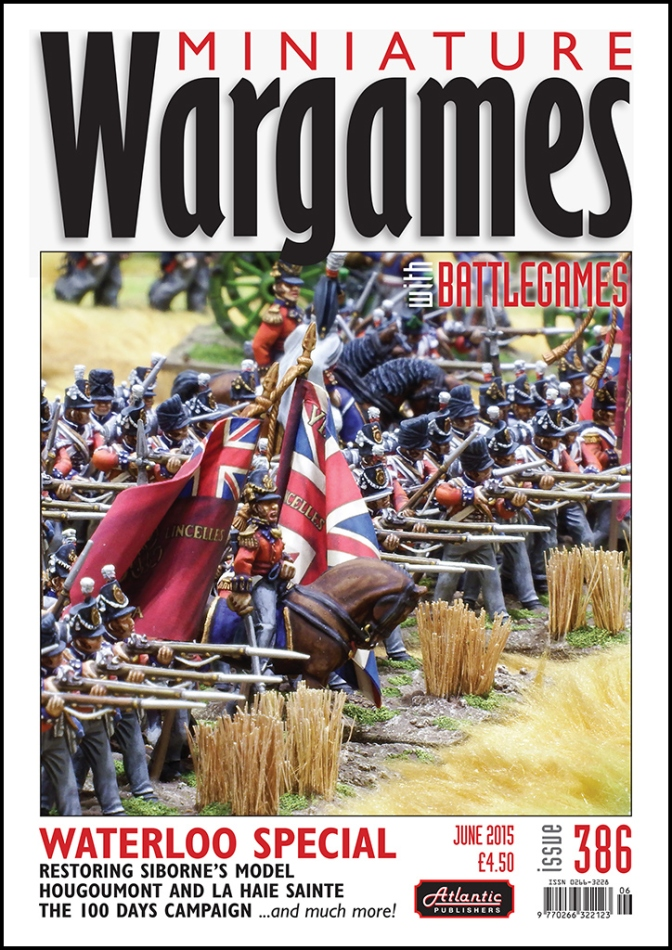 Miniature Wargames with Battlegames – Issue 386 – Waterloo special