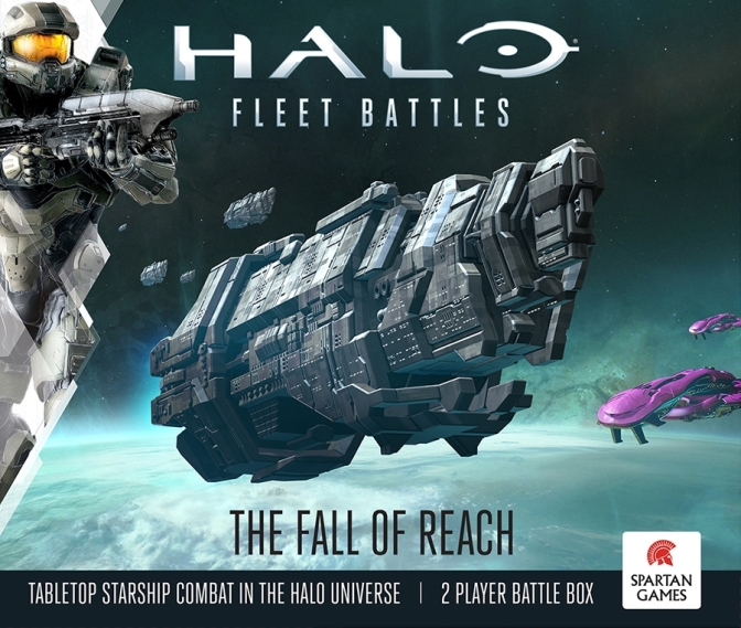 Halo Fleet Battles – what's in the box and painted examples