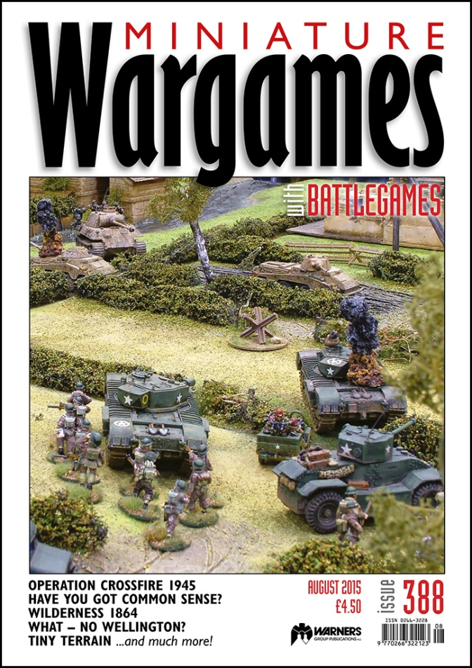 Miniature Wargames with Battegames Magazine Issue 388 out this week
