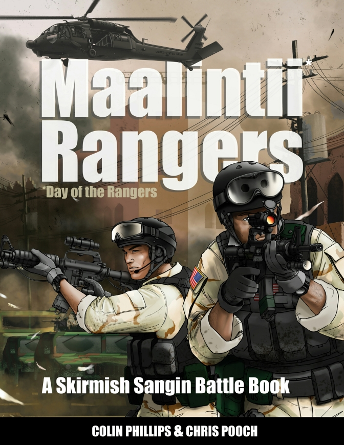 The Day of the Rangers Kickstarter in it's final few days