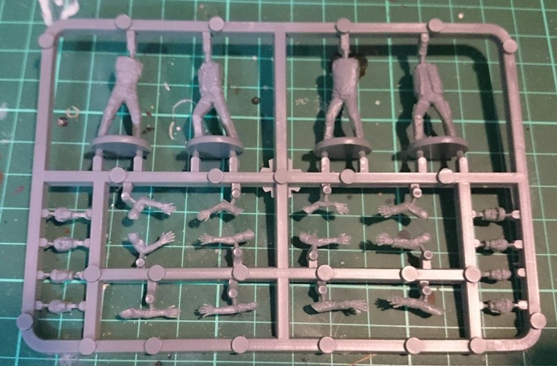 Plastic Zombie Models