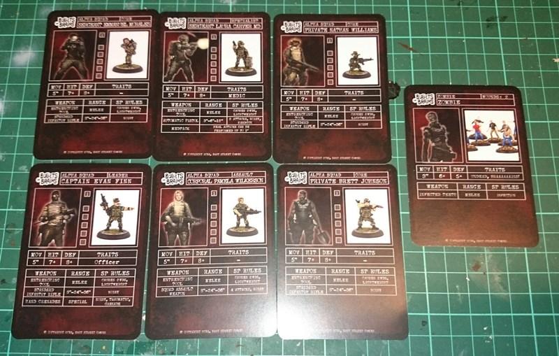 Alpha Squad Stat Cards