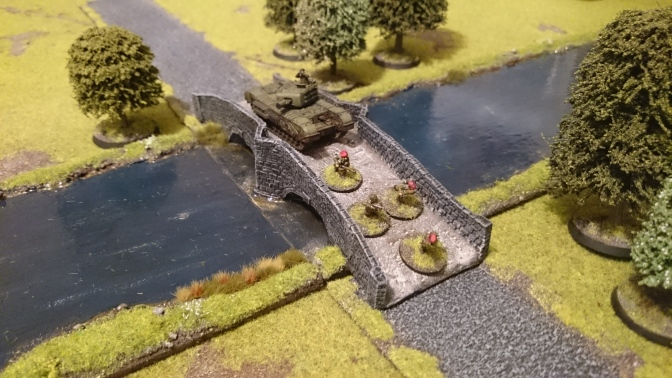 Christening the river