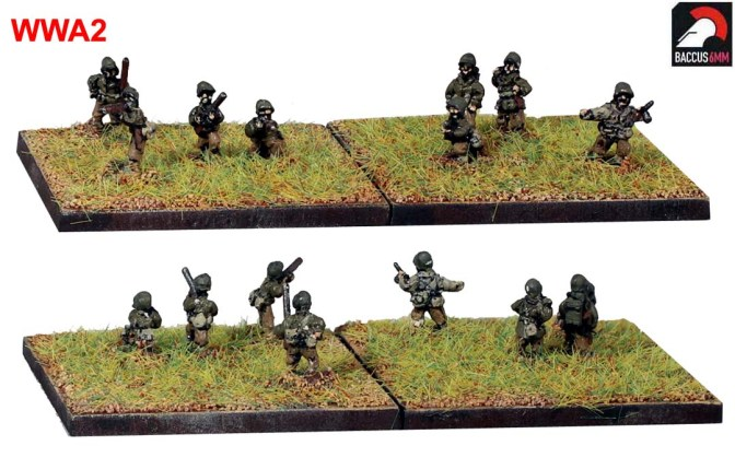Baccus release their first 6mm WW2 Infantry