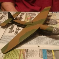 Painting 15mm Airspeed Horsa Glider - Part I
