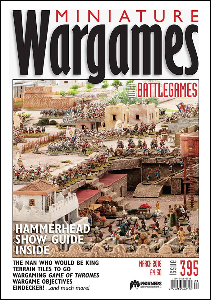 Miniature Wargames with Battlegames, Issue 395 – Meeples