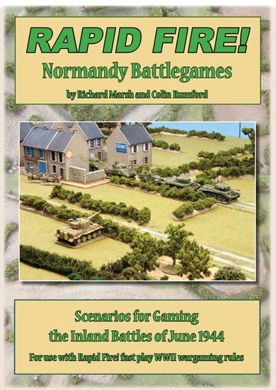 New Rapid Fire Normandy Battlegames book