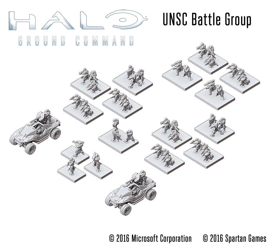 UNSC Battle Group - HGBB01