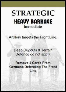 heavy barrage