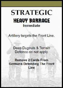 heavy barrage