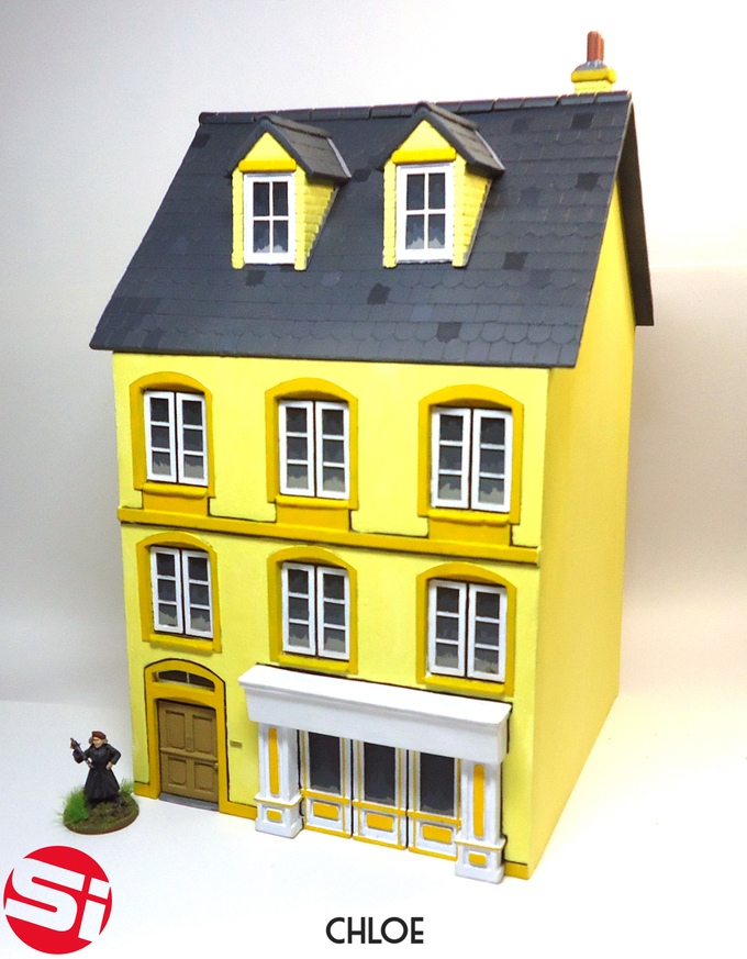 Streetscape – 28mm MDF buildings with a difference on