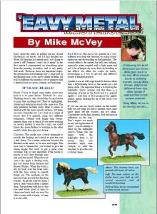 Painting Horses Mike Mcvey