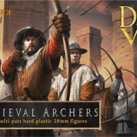 New 28mm plastic Medieval Archers coming from Fireforge Games