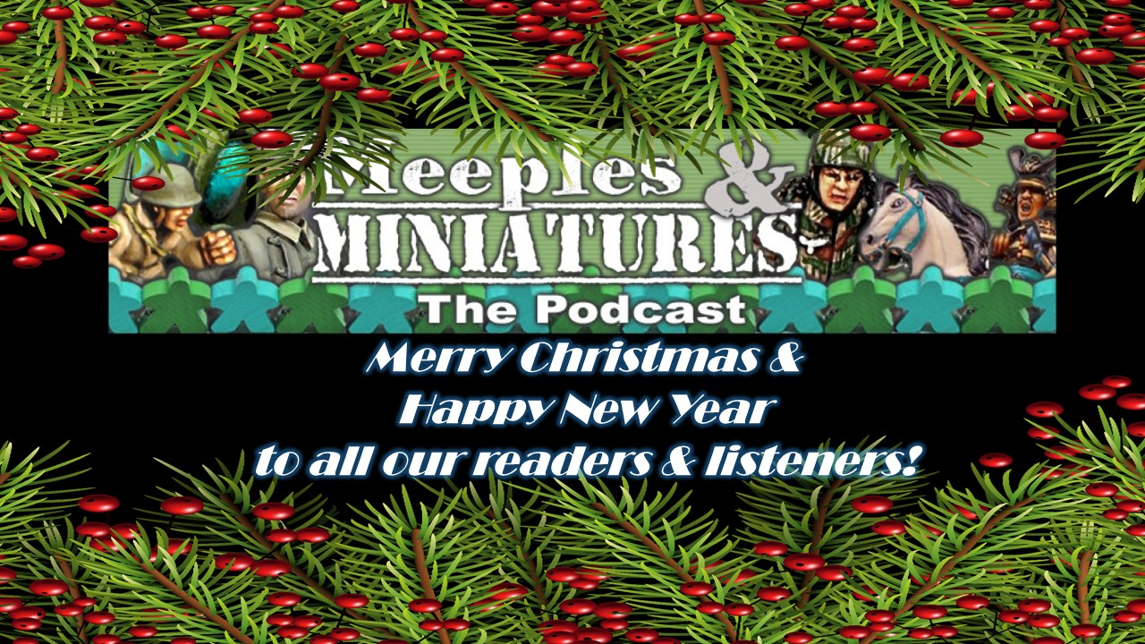 Christmas Greetings From The Whole Meeples Miniatures Crew