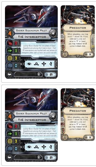 X-Wing proposed squadron builds TIE Interceptor 2