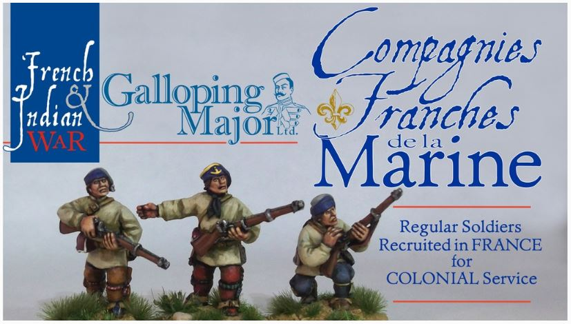 Galloping Major – New French Indian War Kickstarter
