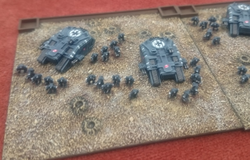 3mm Sci-Fi forces coming from Vanguard Miniatures – Meeples