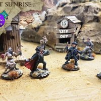 My Last Sunrise - New 28m Gothic Horror miniature range from Bad Squiddo Games