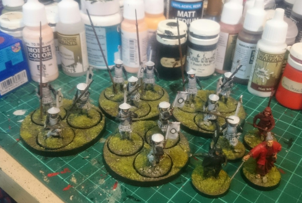 Test of Honour - Painting a warband for Warring States event