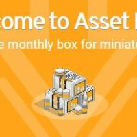 Asset Drop - new subscription box for model painters
