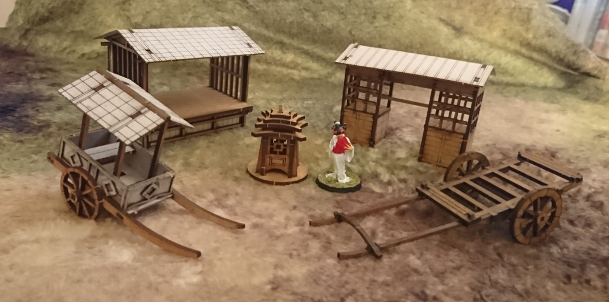 Review: Sarissa Precision 28mm Japan MDF terrain