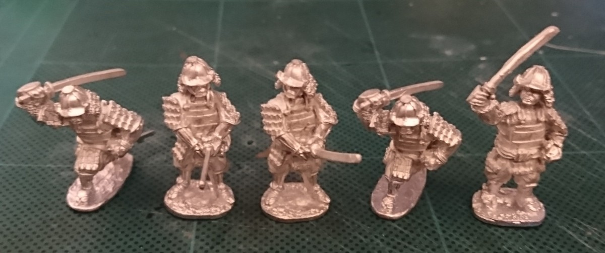 Review: AW Miniatures 28mm Samurai
