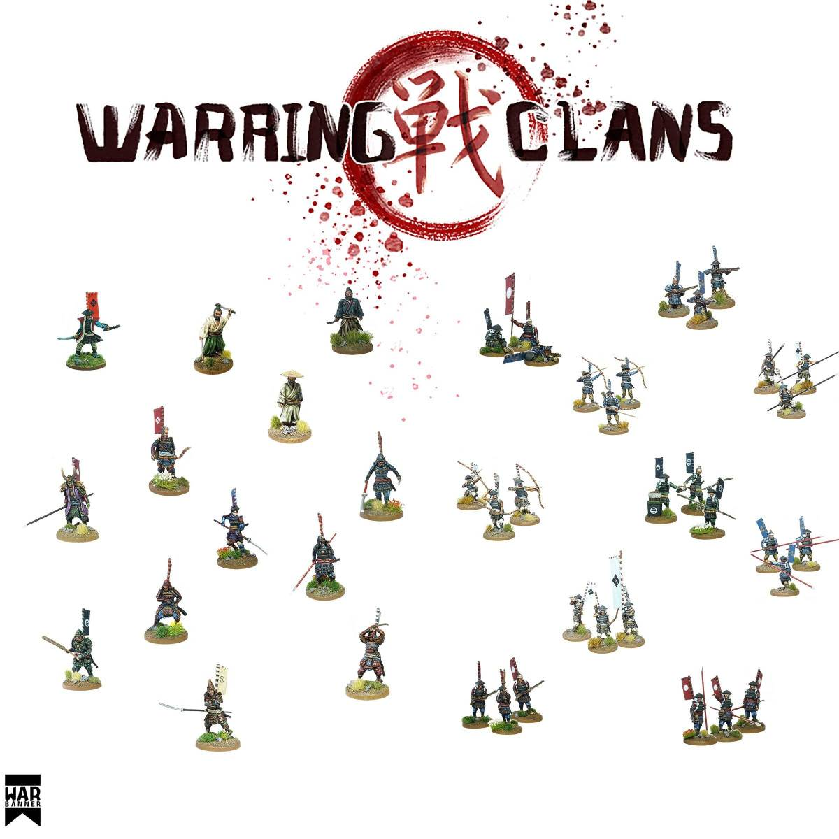 Footsore release their Warring Clans miniatures (finally!)