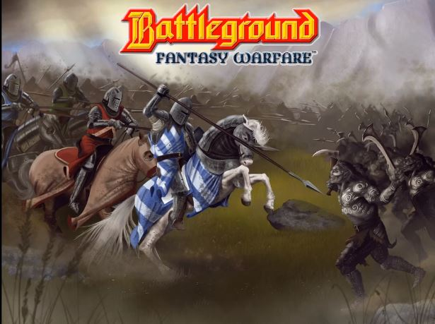 Battleground Fantasy Warfare reprint on Kickstarter