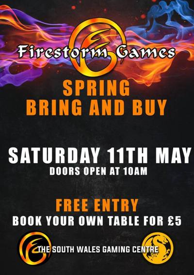 firestorm game b&b